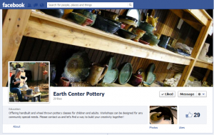 Earth Center Pottery on Facebook