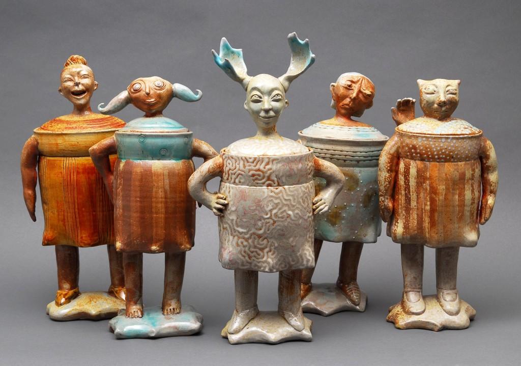 Human pots